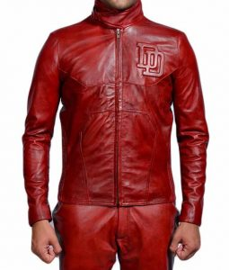 Daredevil Red Leather Jacket