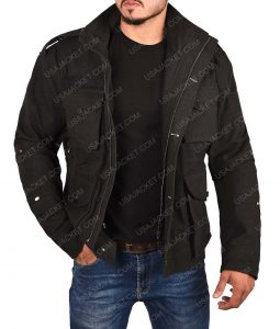 Daredevil Frank Castle Black Cotton Jacket