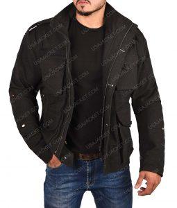 Daredevil Frank Castle Black Cotton Jacket