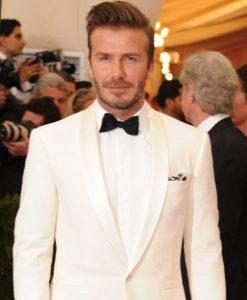 david beckham suit style