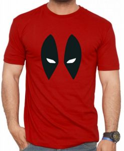 Deadpool T Shirt Eye logo