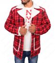 Deadpool Ryan Reynolds Red Checkered Jacket