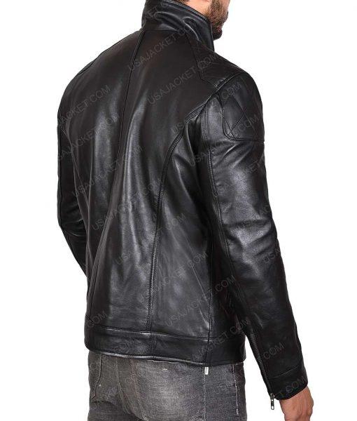 WWE Dean Ambrose Logo Leather Jacket