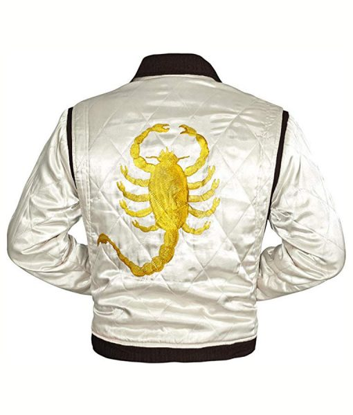 Drive Ryan Gosling Golden Scorpion Jacket