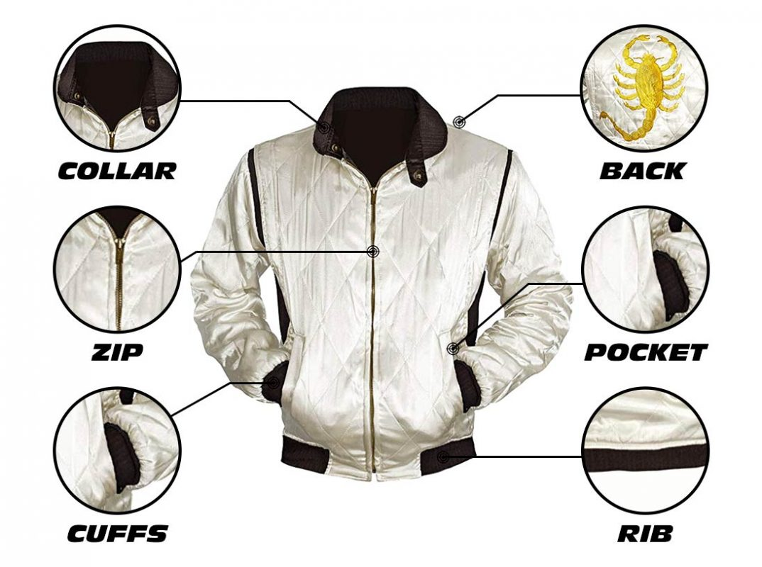 Drive Scorpion Jacket Infographics