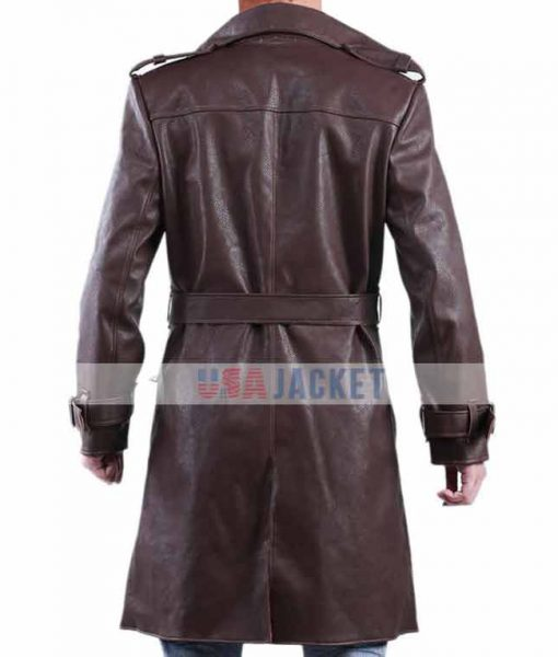 Earle Haley Jackie Trench Coat