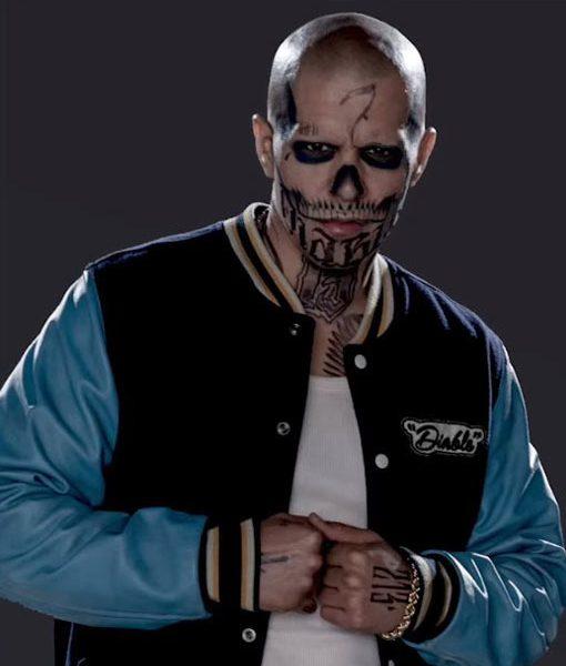 El Diablo Letterman Jacket