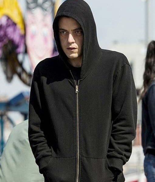 Elliot Alderson Black Hoodie