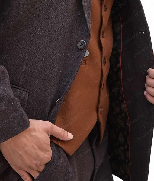 Eddie Redmayne Fantastic Beasts And Where To Find Them Costume Newt Suit
