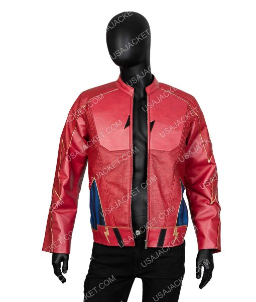 The Flash Real Jay Wesley Leather Jacket