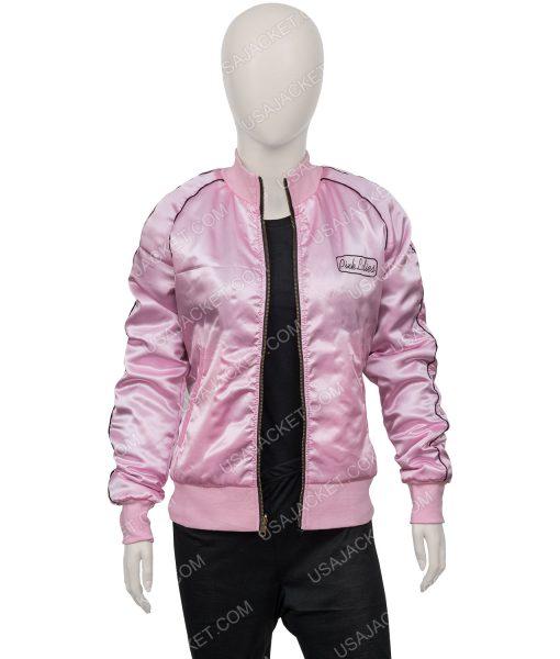 Grease Pink Ladies Satin Jacket
