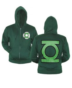 Ryan Ronald Green Lantern Logo Hoodie