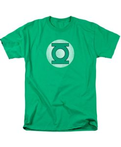 Green Lantern Logo Tshirt For Men