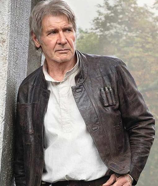 Han Solo Harrison Ford Star Wars Jacket The Force Awakens