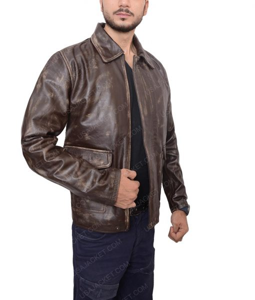 Indiana-Harrison-Ford-Distressed-Brown-Jacket