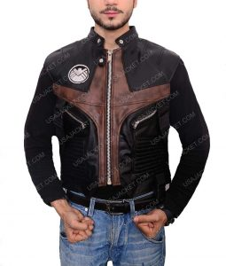 The Avengers Jeremy Renner Leather Vest