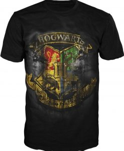 Hogwarts Black T Shirt