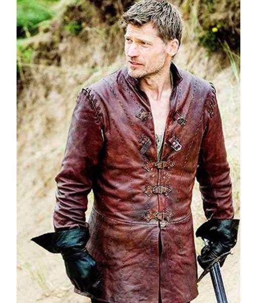 Jaime Lannister Leather Jacket