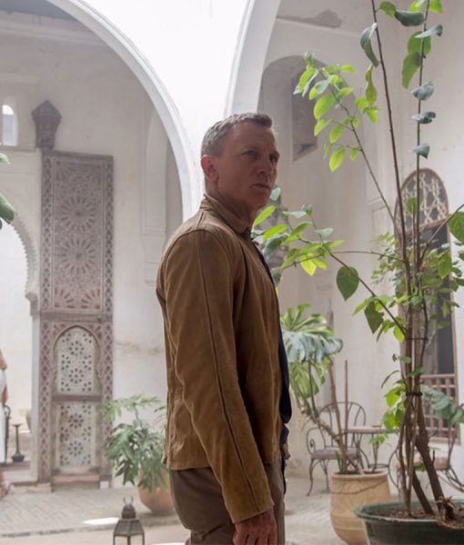 James Bond Brown Morocco Suede Leath