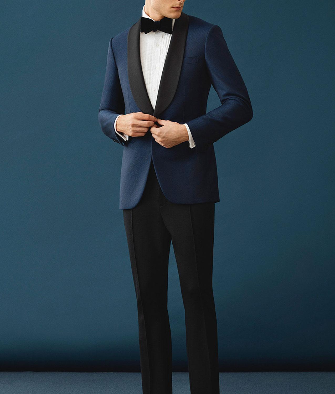 James Bond Skyfall Midnight Blue Dinner Tuxedo