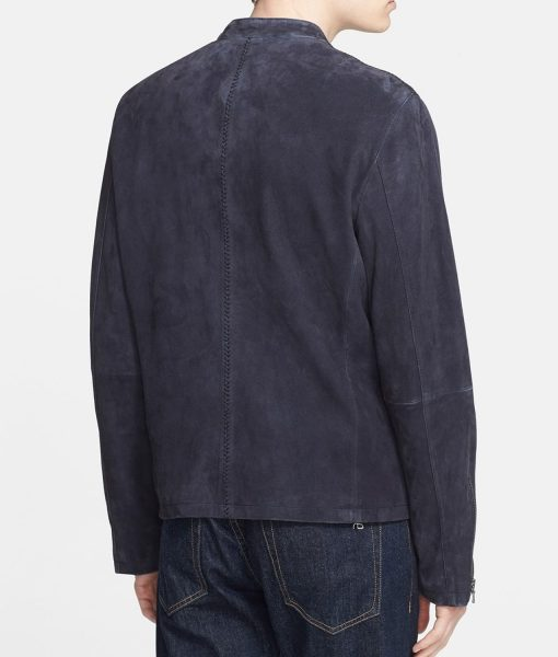 Daniel Craig Spectre Black Suede Jacket