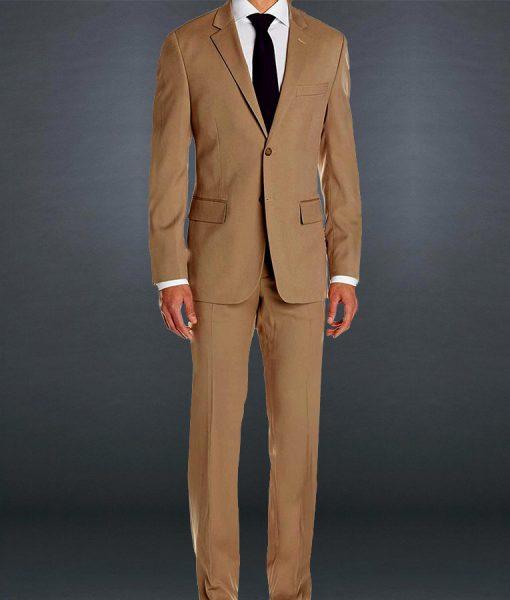 James Bond Spectre Brown Travel Suit