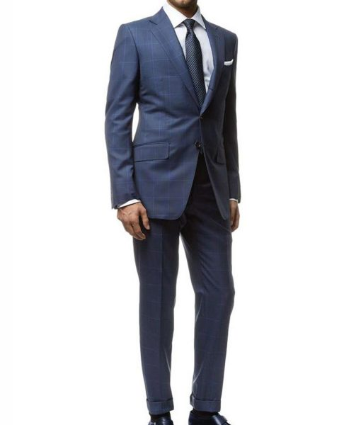 Daniel Craig Spectre Windowpane Suit