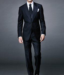 James Bond Spectre Daniel Craig Herringbone Suit