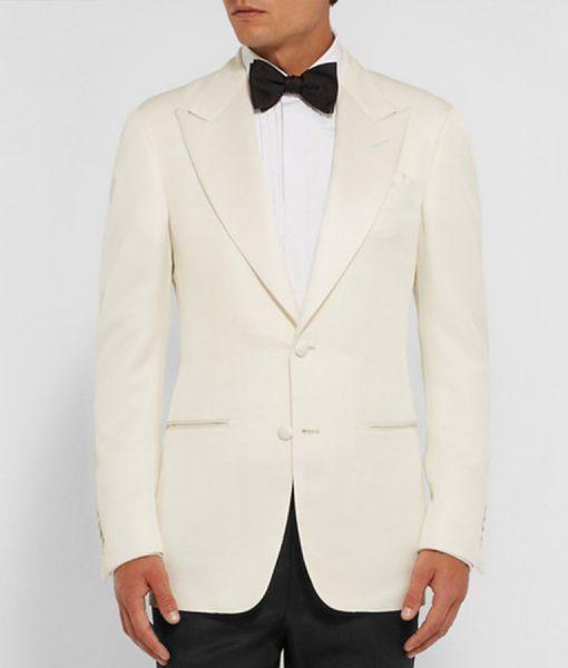 James Bond Spectre White Tuxedo Suit