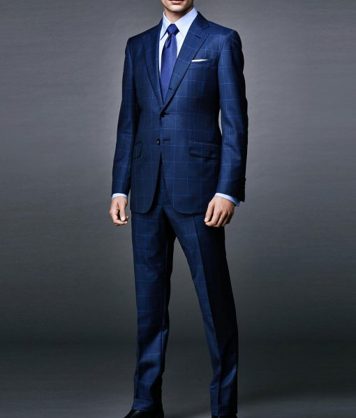 James Bond Spectre Windowpane Suit