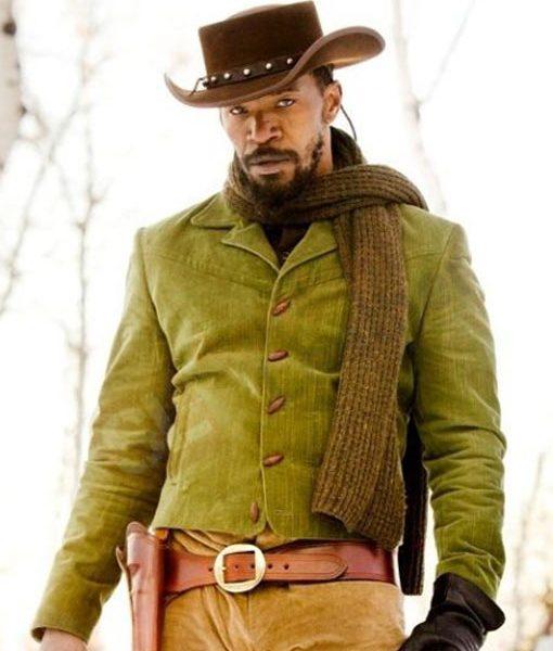jamie foxx gree jacket django