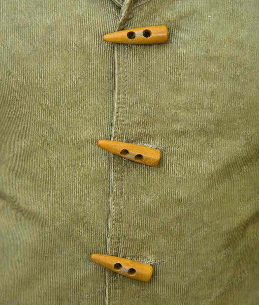 Jamie Foxx Django Green Jacket