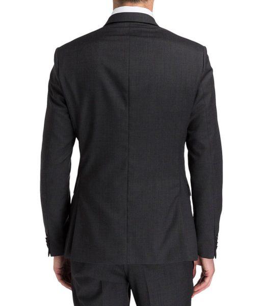 Keanu Reeves Charcoal Suit
