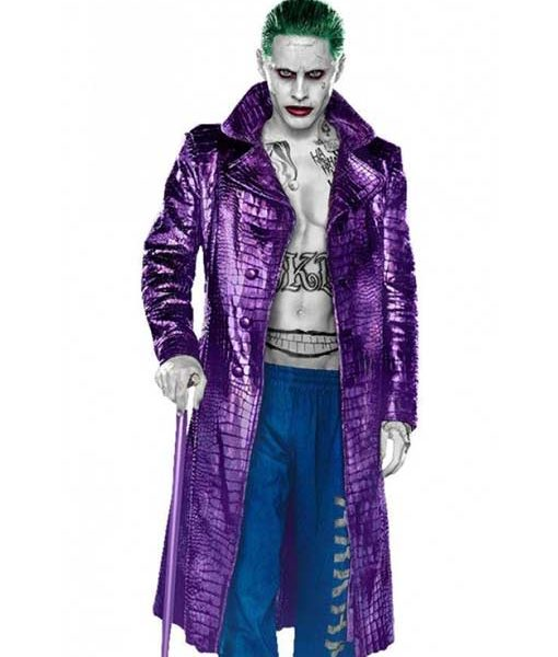 Jared Leto Purple Coat
