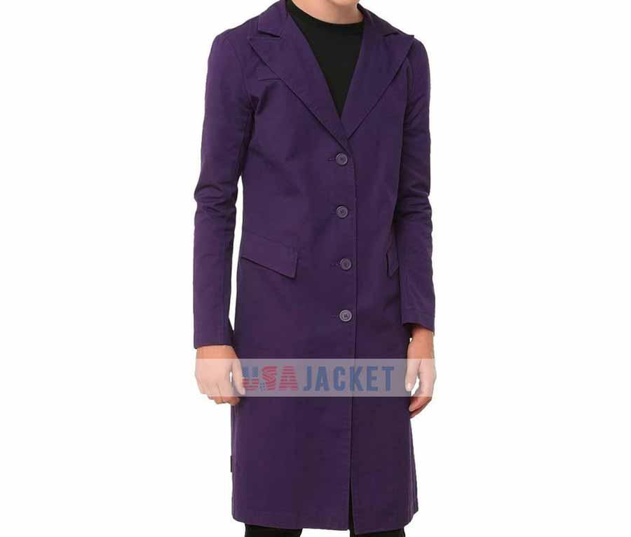 d14eed0ff Heath Ledger The Dark Kngiht Joker Purple Coat