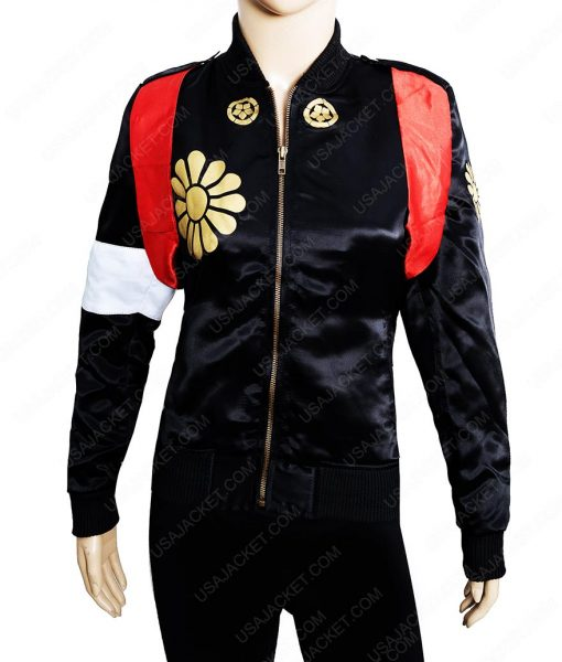 Katana Suicide Squad Leather Jacket