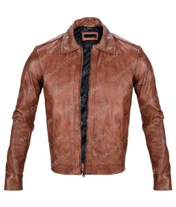 John Wick Brown Leather Jacket
