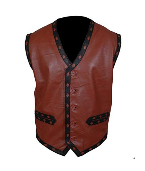 Warriors Leather Vest