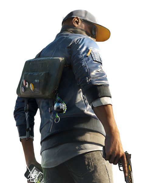 watch dogs 2 blue varsity jacket