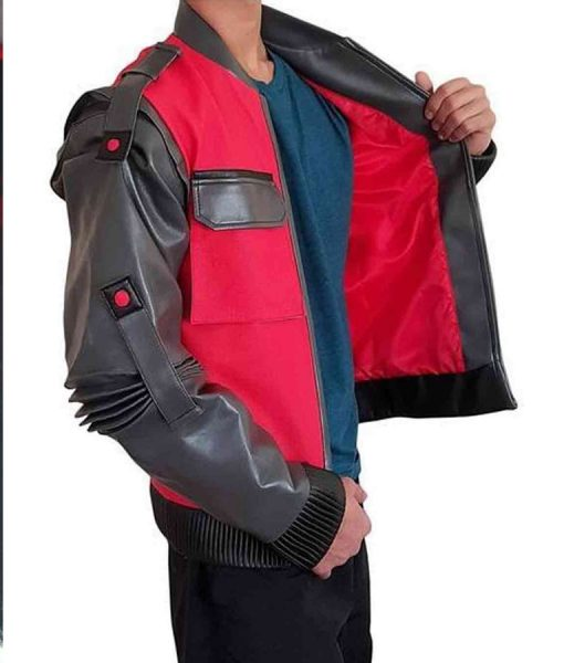 Marty Marlene Mcfly Leather Jacket