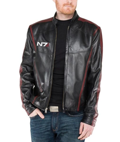 Mass Effect Leather Jacket