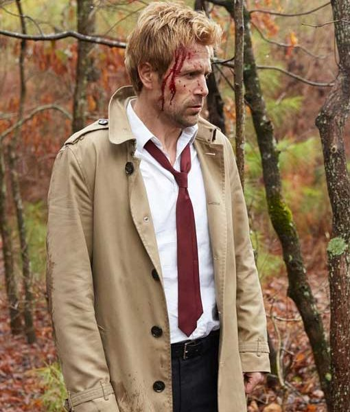 Matt Ryan Constantine Brown Coat