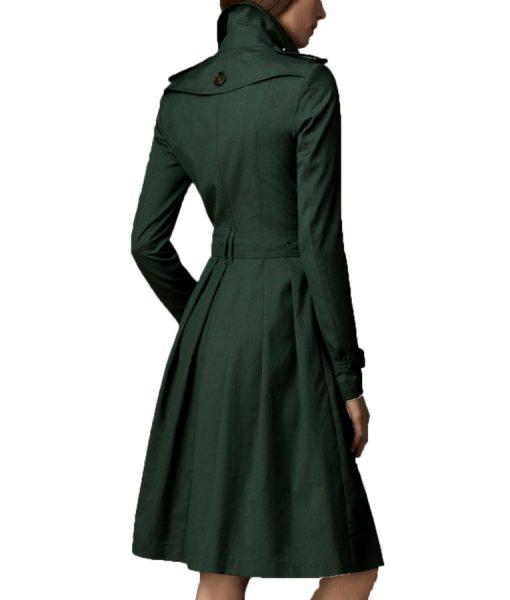 Rebecca Ferguson Mission Impossible 5 Green Coat