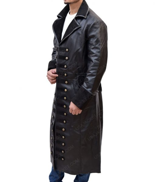 Colin O'Donoghue Leather Coat