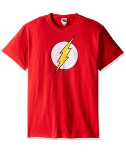 Red flash t shirt for men