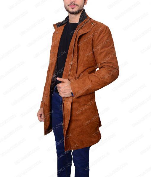 Longmire Sheriff Walt Suede Coat