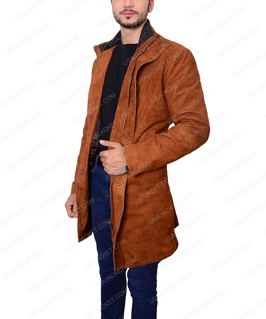 1c50678c2e4 Robert Taylor Sheriff Walt Longmire Coat