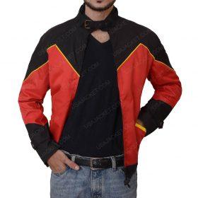 Robin Tim Drake Red Leather Jacket