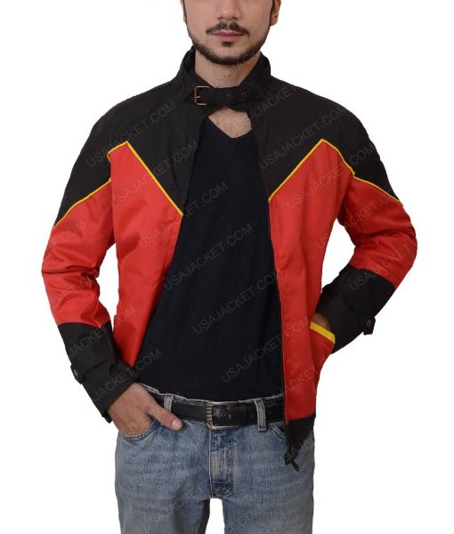 Robin Tim Drake Red Leather Jacket