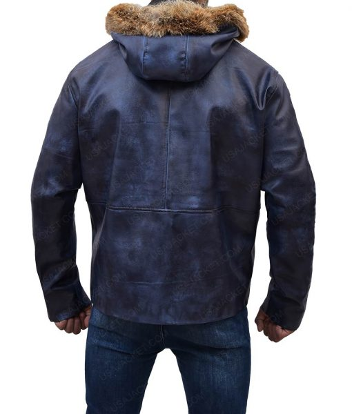 Rogue One A Star Wars Luna Captain Cassian Andor Blue Parka